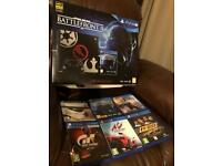 Star Wars Playstation Pro PS4 limited edition plus 6 games.