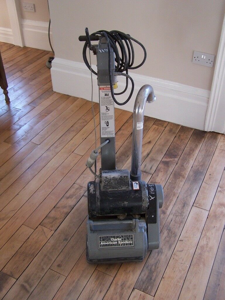 Clarke American EZ8 Drum Floor Sander and Edger