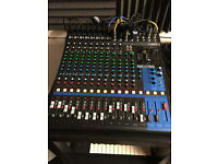 STILL UNDER WARRANTY - Yamaha MG16XU mixing desk with USB and built in effects - excellent condition