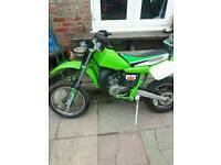 Kx 60 not cr yam Honda kaw