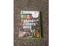 GTA IV Xbox 360 game