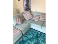 L corner sofa for sale brand new £600