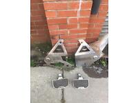 Honda goldwing gl 1100 1981 aftermarket chrome plates and footrests