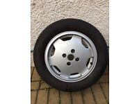 audi 80 coupe alloy wheel 15 inch with tyre
