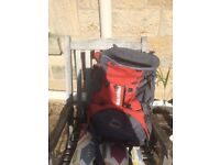 Backpack barely used 65L+. Ideal for guides, scouts or D of E trips
