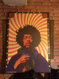 Jimi Hendrix canvas