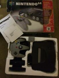 Boxed Nintendo 64 Console