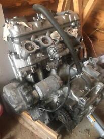 ZX6R F3 600cc engine 26k