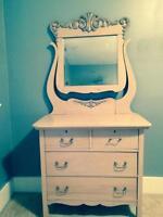 Beautiful restored dresser!