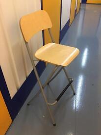 2 High bar like chairs