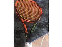 Wilson burn 100uls rackets