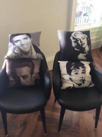 Iconic 4 movie star cushions
