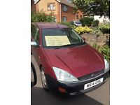Ford Focus estate 1.6 petrol with 5.5 months mot