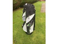 BRAND NEW GOLF BAG UNWANTED GIFT WITH STRAP AND COVER