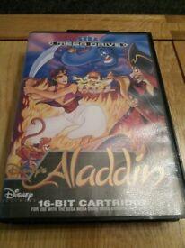 Sega Megadrive Game - Aladdin no booklet