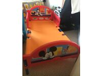 Mickey Mouse toddler bed unused