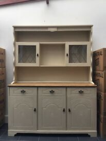Painted Kitchen/living room dresser