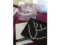 Jon Richards Wedding Bride Bridal Jewellery and Tiara Set