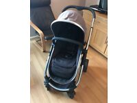 Icandy Strawberry pushchair, Carrycot & Car Seat adaptors
