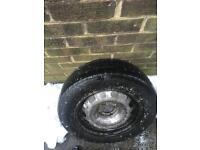 195/65/15 Spare Wheel & Tyre 3mm tread