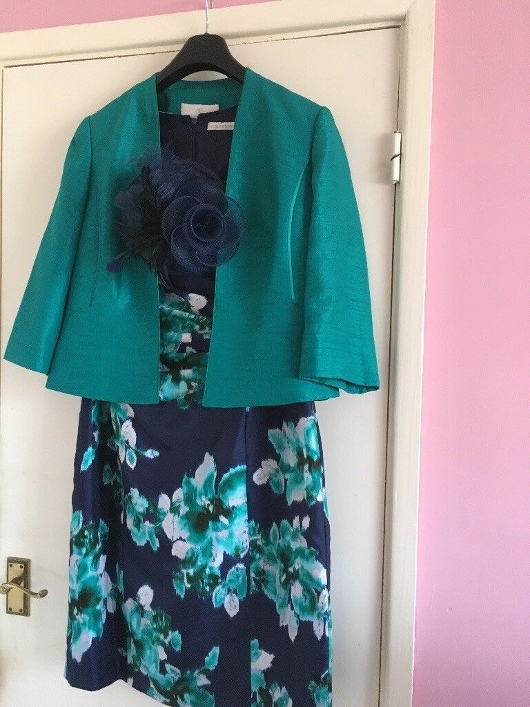 Spring Wedding outfit. Size 16 Jacques Vert Brand Cost £300 Sell ...