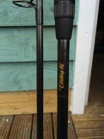 Fishing rods century ng x2 and century ak47 twin top