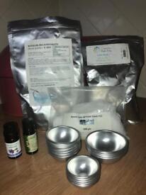 Bath bomb making set