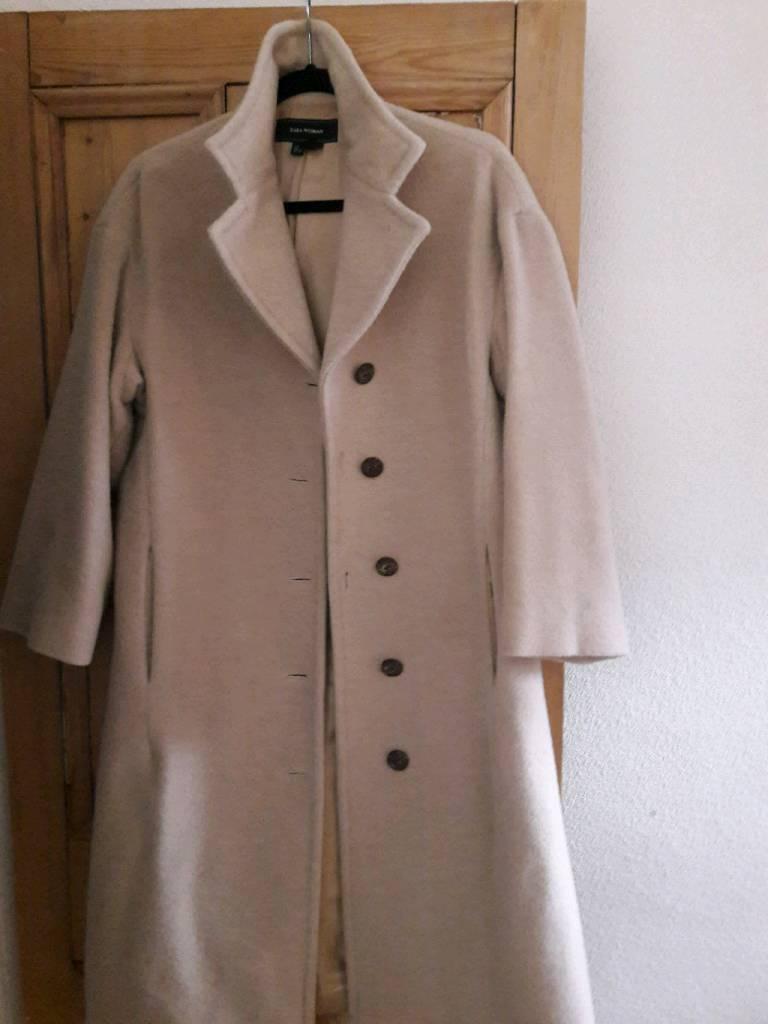 ZARA Woman Camel Coat M
