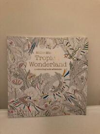Colouring book - tropical wonderland
