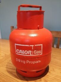 CALOR GAS PROPANE 3.9KG BOTTLE, VERY GOOD CONDITION