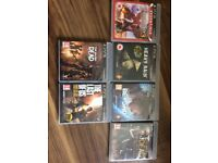 6 PS3 Games in an Excellent Condition