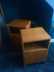 60's Bedside Tables