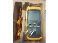 FLUKE 52-2 Thermocouple Thermometer- two probes