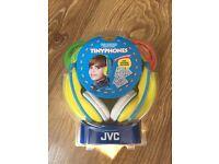 JVC tinyphones