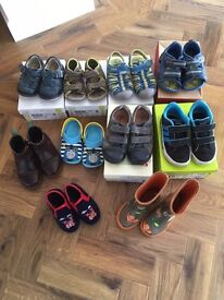 Toddler boys shoes and boots sizes 5 - 8.5 . . . all in good condition!
