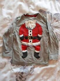Christmas long sleeve top - Age 2-3yrs