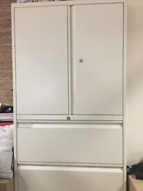 Bisley Steel Storage Filing Cabinets - Used