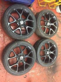 New style corsa vxr alloy wheels