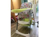 Mamas & Papas High Chair.