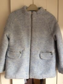 Mayoral blue girls coat, age 7