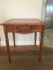 Card and chest board table