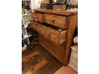 Extra large victorian drawers