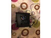 Ps3 2 controllers + games(Fifa 18+Dbz xenoverse on hard disk)