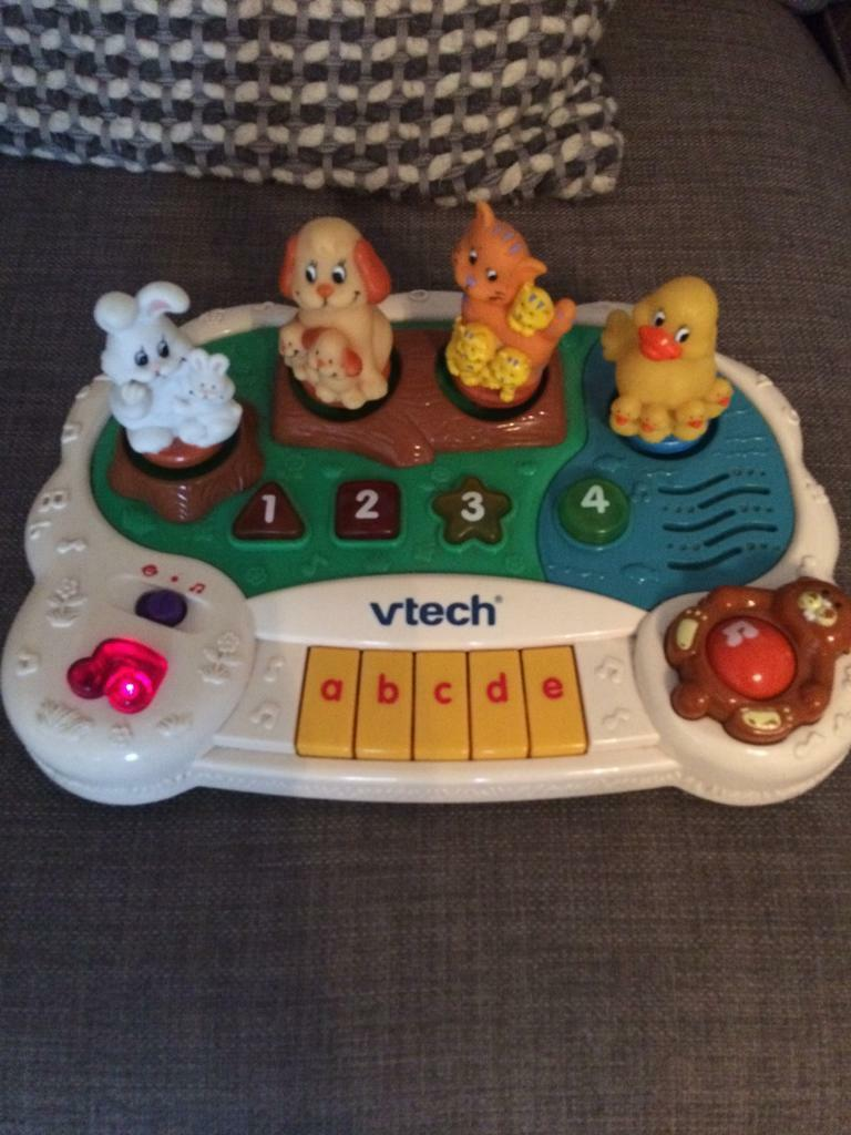 Vtech animal piano musical toy