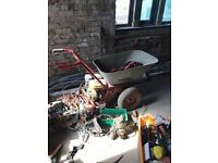 Petrol wheelbarrow