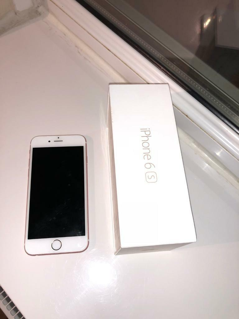 iPhone 6s 64GB on EE Rose Gold