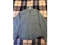 Green Squared Shirt Men (S)