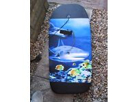 Dolphin patterned bodyboard