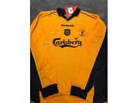 BNWT commemorative Liverpool FA Cup Final shirt 2001