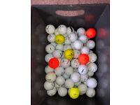100 Various WILSON golf balls